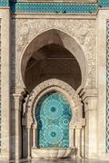 Hassan II Casablanca MAROKKO Kuvituskuvat
