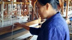 Inle Lakefamous craftsman village in Myanmar, Burma Stock Footage