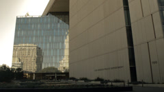 LAPD Headquarters, downtown Los Angeles Stock Footage
