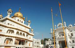 Stock Photo of inside famous golden temple - harmandir sahib, sikh sacred place,Amritsar