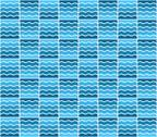 Stock Illustration of blue wave pattern