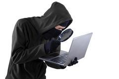 hacker threat - stock photo