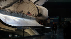 Space Shuttle Atlantis Kennedy Space Center show HD 2069 Stock Footage