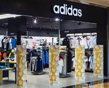 Stock Photo of adidas sportswear store