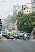 Mumbai or bombay,capital of maharashtra,india Stock Photos