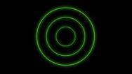 Stock Video Footage of neon circle 4K loopable Background