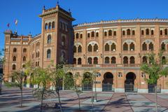 famous las ventas bullring - stock photo