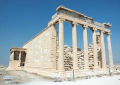 Famous world landmark - ruins of acropolis in athens,greece Stock Photos
