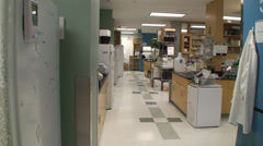 Modern medical lab for research. Stock Footage