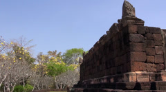 The Khmer temple at Phanom Rung Historical Park - 8 Stock Footage