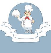 Kokki cook mies Piirros