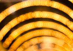 Defocused abstract lights christmas background Stock Photos