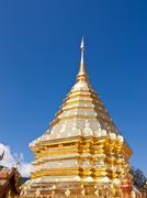 Wat phra thart doisuthep,thailand Stock Photos