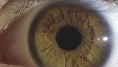 Eye macro - closeup Stock Footage