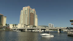 Tampa Convention Center Stock Footage