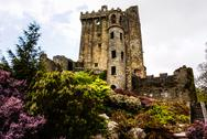 Stock Photo of irish castle of blarney , famous for the stone of eloquence. ireland
