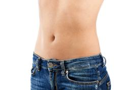Woman's belly Stock Photos