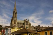 Stock Photo of st. colman's neo-gothic cathedral in cobh, south ireland