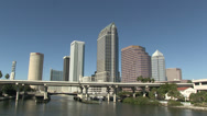 Stock Video Footage of Downtown Tampa, Florida