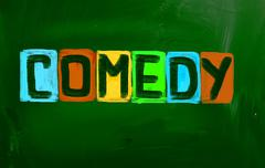 Komedia konsepti Piirros