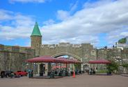 Stock Photo of porte st jean, quebec city