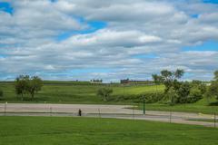 Plains of abraham, quebec city Stock Photos