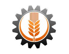 Agriculture and industry icon Stock Illustration