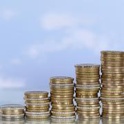 Rahaa käsite kasvun ja menestyksen aihe Kuvituskuvat