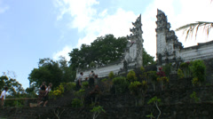 Lempuyang temple, Bali Stock Footage