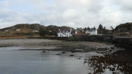 Stock Video Footage of Kinlochbervie waterfront Scotland