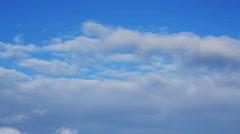 1 Minute Timelapse Clouds Loop 01 Stock Footage