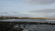 Stock Video Footage of Thurso waterfront Scotland