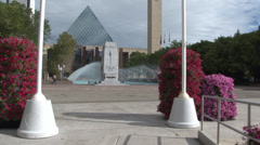 Edmonton - Alberta - Canada - Downtown - City Hall - HD Stock Footage