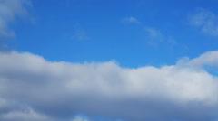 1 Minute Timelapse Clouds Loop 02 Stock Footage