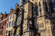 Stock Photo of the prague astronomical clock, or prague orloj