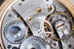 Disassembled  watch Stock Photos
