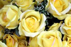 Rose artificial flower Stock Photos