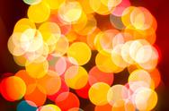 Stock Illustration of festive background with bokeh