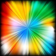 Multi-coloured beams - eps 10 - stock illustration