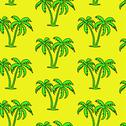 Stock Illustration of seamless palm tree  pattern