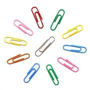 Paper clip Stock Photos