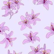Stock Illustration of beautiful seamless wallpaper