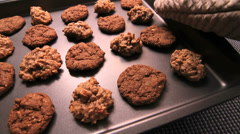 Cookies Motorized Slider Stock Footage