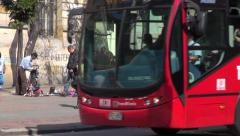 Buses, Roads, Public Transportation, Mass Transit - stock footage