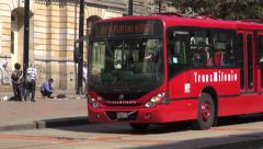 Buses, Roads, Public Transportation, Mass Transit - stock footage
