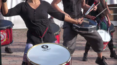 Drummers, Drums, Musicians Stock Footage