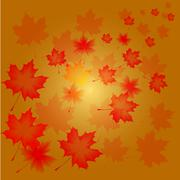 abstract flora background - stock illustration
