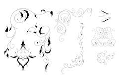 arabesarabesque for decoration - stock illustration