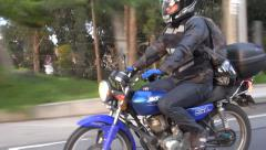 Stock Video Footage of Motorcycles, Scooters, Mopeds, Transportation