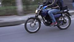 Motorcycles, Scooters, Mopeds, Transportation - stock footage